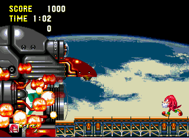 Sonic and Knuckles & Sonic 3 - and explode - User Screenshot